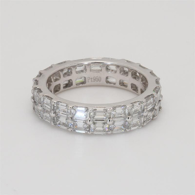 Ladies' Diamond Eternity Band 4.40tw  950 Platinum