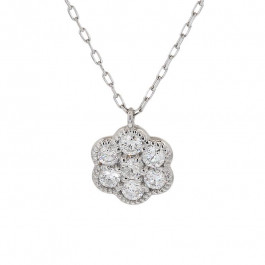 Ladies' Diamond Fashion Necklace 0.30tw  Platinum