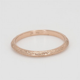 Ladies' Wedding Band 14K Rose Gold