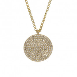 Ladies' Diamond Fashion Necklace 0.56tw  14K Yellow Gold
