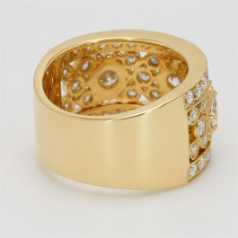 Ladies' Diamond Fashion Ring 1.85tw  18K Yellow Gold