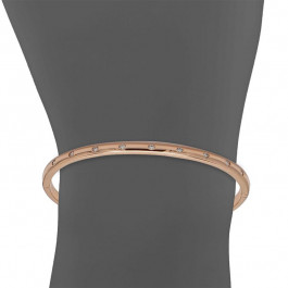 Ladies' Diamond Bangle 0.26tw  18K Rose Gold