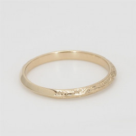 Ladies' Wedding Band 14K Yellow Gold