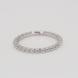 Bead It, Ladies' Ring 14K White Gold