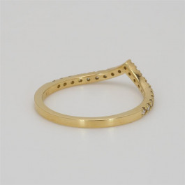 LA Hip, Ladies' Diamond Fashion Ring 0.20tw  18K Yellow Gold
