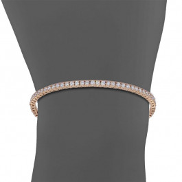 Ladies' Diamond Bangle 1.15tw  14K Rose Gold