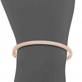 Ladies' Diamond Bangle 1.19tw  18K Rose Gold