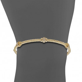 Ladies' Diamond Bangle 0.51tw  14K Yellow Gold