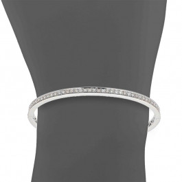 Ladies' Diamond Bangle 1.33tw  18K White Gold