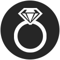 custom engagement rings icon