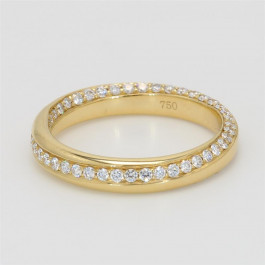 Ladies' Diamond Fashion Ring 0.64tw  18K Yellow Gold
