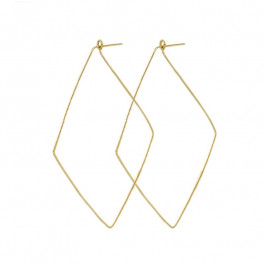 Zoe Chicco, Ladies' Gold Hoop Earring 14K Yellow Gold