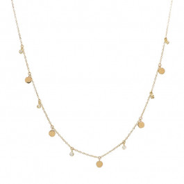 Ladies' Diamond Fashion Necklace 14K Yellow Gold