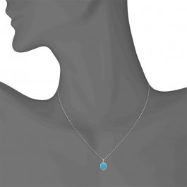 Ladies' Gemstone Pendant 2.94tw  18K White Gold
