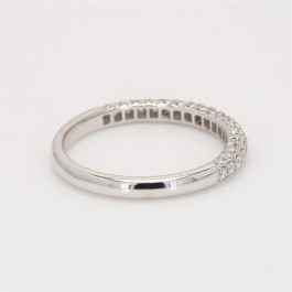 Ladies' Diamond Half-Way Band 0.57tw  18K White Gold