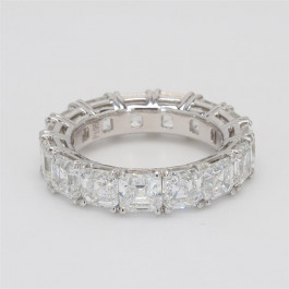 Ladies' Diamond Eternity Band 7.91tw  Platinum