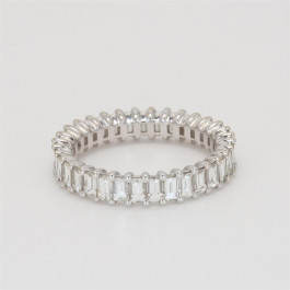 Ladies' Diamond Eternity Band 2.40tw  18K White Gold