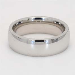Mens' Wedding Band Cobalt