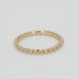 Bead It, Ladies' Ring 14K Yellow Gold