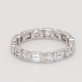 Ladies' Diamond Eternity Band 1.71tw  18K White Gold