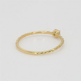 LA Hip, Ladies' Diamond Fashion Ring 0.10tw  18K Yellow Gold